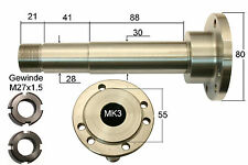 10217 GG-Tools Spindelwelle Flansch 80mm