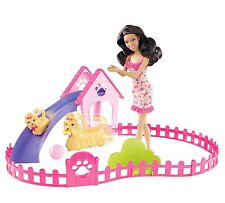 Barbie Puppy Play Park Playset Nikki Doll / Pets / Playset Free Shipping