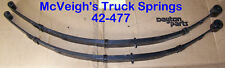 REAR LEAF SPRINGS FOR 1970-1/2 FORD FALCON. BUILT AFTER 1-1-1970