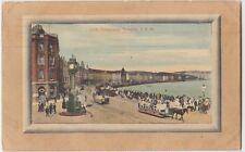 1910 DOUGLAS Isle Of Mann Mann Great Britain Wagons Loch Promenade Postcard