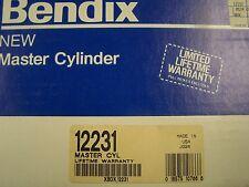 Bendix 12231 New Brake Master Cylinder fits Acura Integra Honda Prelude Accord