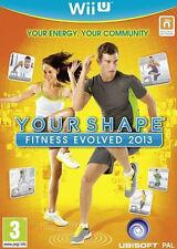 Your Shape Fitness Evolved 2013 Game Wii U Nintendo WiiU New Sealed Free P&P UK