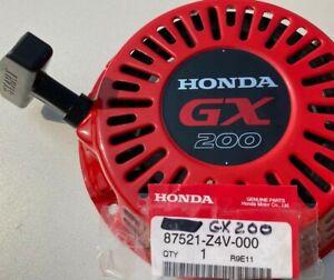 HONDA GX200 ASSEMBLY PULL STARTER RECOIL 5.5HP 6.5HP OEM Metal Pawls