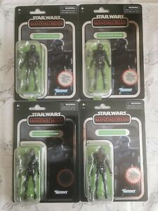 Star Wars Vintage Collection Carbonized Death Trooper x 4 Troop builder