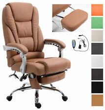 Bürostuhl Pacific mit Massagefunktion Fußstütze integriert Bürosessel Chefsessel