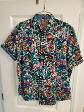 Robert Graham Short Sleeve Shirt 2XL..Pristine Condition..AUCTION..