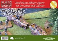 20mm GERMAN SDKFZ 251/D HALFTRACK VARIANTS - PLASTIC SOLDIER COMPANY WW2 - 1/72