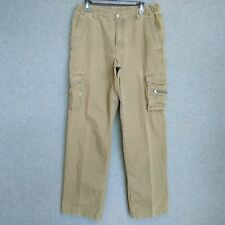 Columbia Relaxed Cargo Mens Pants  Size M X 32 (34 x 32) Army Green