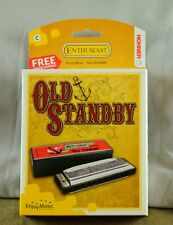 New Hohner Old Standby Hamonica in Key of C - Free Online Lessons