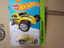 Hot Wheels custom Volkswagen Beetle #247 MOON EYES LOGO see picture