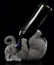 Elefant als Flaschenhalter - Figur Deko Geschenk witzig lustig