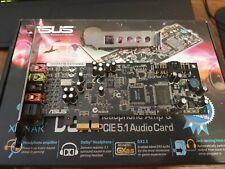 Asus Xonar DGX 5.1 Gaming Soundcard PCIE Hi-Res Audio GX 2.5 Jack Sensing