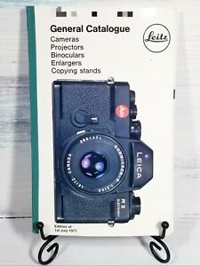 Vintage Leitz Leica General Catalogue of Photographic Equipment 1977 Germany