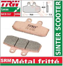 Plaquettes frein Avant TRW MCB557SRM Sinter Aprilia 125 Scarabeo PC 99-03