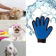 1x Pet Dog Cat Massage Hair Removal Grooming Groomer Cleaning Brush Magic Glove