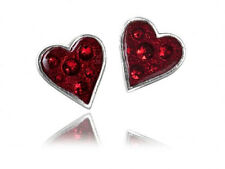 GENUINE Alchemy Gothic Earrings - Heart's Blood Studs | Ladies Fashion Jewellery