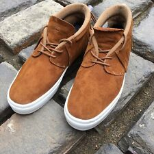 Mens Suede Size 10.5 One O One Brown Fringe Moccasins Shoes Sneakers