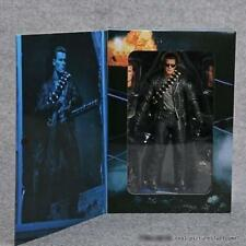 "New NECA Terminator 2 Judgment Day T-800 Ultimate Deluxe Arnold 7"" Action Figure"