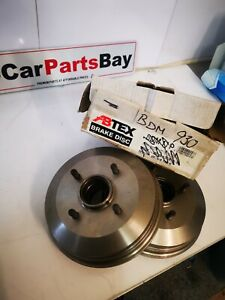 NISSAN SUNNY BRAKE DRUMS PAIR SEE DESCRIPTION FOR FITMENT DETAILS!