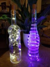Battery Bottle Contemporary Lamps