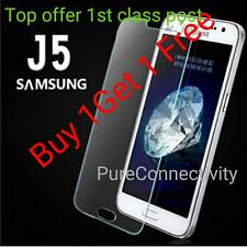Ultra Thin Tempered Glass Screen Protector For Samsung Galaxy J5 [PACK OF 2]