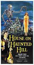 House On Haunted Hill Poster 03 A3 Box Canvas Print