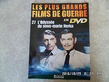 FASCICULE GRANDS FILMS DE GUERRE N°27 L'ODYSSEE DU SOUS MARIN NERKA C Gable H39