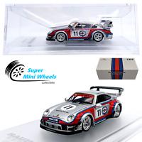 CM-Model 1:64  RWB Porsche 911 (993) Martini - Detachable Wing - Diecast Model