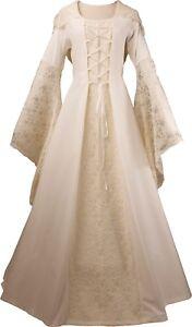 Mittelalter Karneval Gothic Kleid Gewand Kostüm Eloise Maßanfertigung Farbwahl