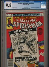 MARVEL COMICS AMAZING SPIDER-MAN ANNUAL #15 CGC 9.8 WP NEWSSTAND PUNISHER APP