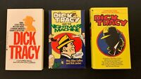 3 Dick Tracy Paperbacks • Movie Adapt & Strips/Max Collins • Dick Tracy/Johnston
