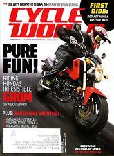 Cycle World Magazine December 2013 Ducati's Monster Turns 20