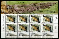 ISRAEL SCOTT#1969/71 VULTURES  SET OF 3 SHEETS OF 8  STAMPS EACH MINT NH