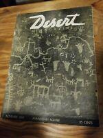 DESERT MAGAZINE 1939 NOVEMBER ROCK ART, HOPI, WHITE MOUNTAIN