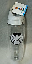 Marvel Agents of S.H.I.E.L.D. logo Tervis 24oz Water Bottle New NOS Tags