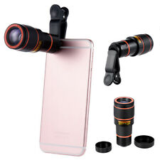 12x Telephoto Camera Lens Optical Zoom Magnifier Telescope w/Clip For Smartphone