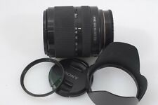 EXC++ SONY SAL 18-135mm f3.5-5.6 DT SAM LENS SAL18135, CAPS, HOOD, +BONUS UV