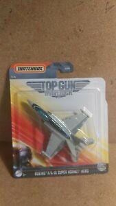 2020 Matchbox Top Gun Maverick #3 Boeing F/A-18 Super Hornet Hero