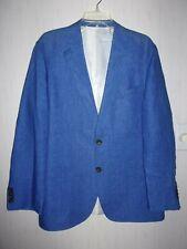 Jacket, Faconnable - 100% Blue Linen Blazer for Men. Size 54 RUS L/G