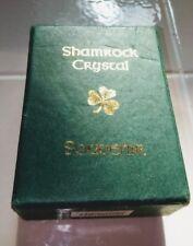 """Shamrock Works  Empty Velvet Gift Souvenier Presentation Box 4x3"""""""