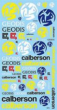 CALBERSON New Geodis Sponsors Arc 1:24 Décalque Décalcomanies