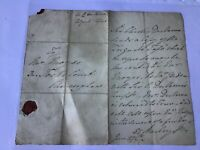 Sir Charles Chancery Lane London wax seal  Entire letter cover  Ref R28551
