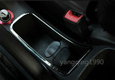 Chrome water cup holder decoration cover trim for Chevrolet Cruze 2009 - 2014
