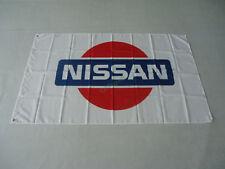 New Banner Flag for Nissan Flag Wall Deco Garage 3x5ft White