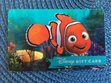 Disney Nemo gift card collectible only-  no $ value or points on it