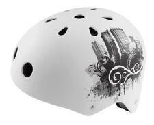 helmet URBAN skate bmx size s white color 50-54 cm RIDEWILL BIKE bicycle