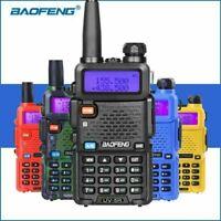 Baofeng UV-5R 5W Two Way Radio Walkie Talkie Dual Band VHF UHF Portable Radio AU
