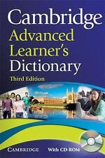 Cambridge Advanced Learner's Dictionary with CD-ROM (Dictionary)-ExLibrary