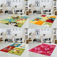 Tapis multicolores rectangulaire pour la maison salle de jeux pour enfants