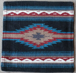 Wool Pillow Cover HIMAYPC-76 Hand Woven Southwest Southwestern 18X18